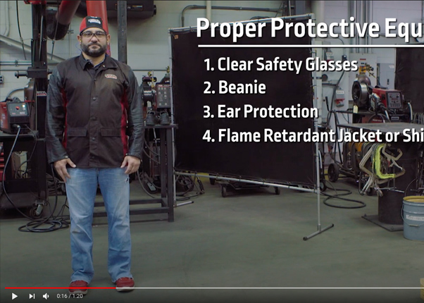 Plasma Cutter Safety and Setup -Video