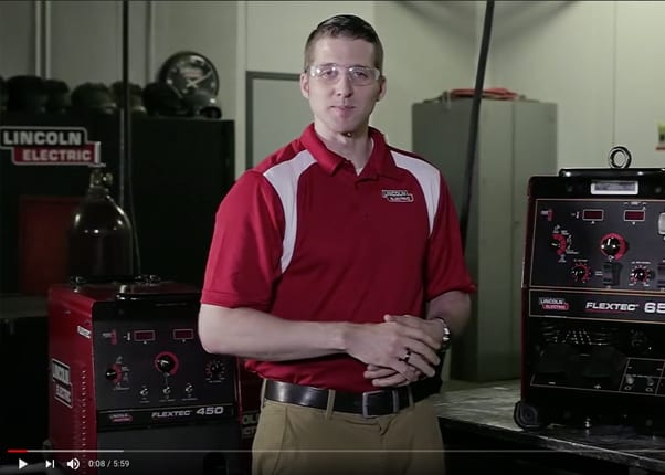 Flextec 650 delivers up to 815 amps of welding power