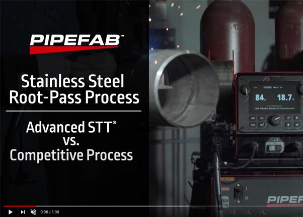 Video STT Surface Tension Transfer